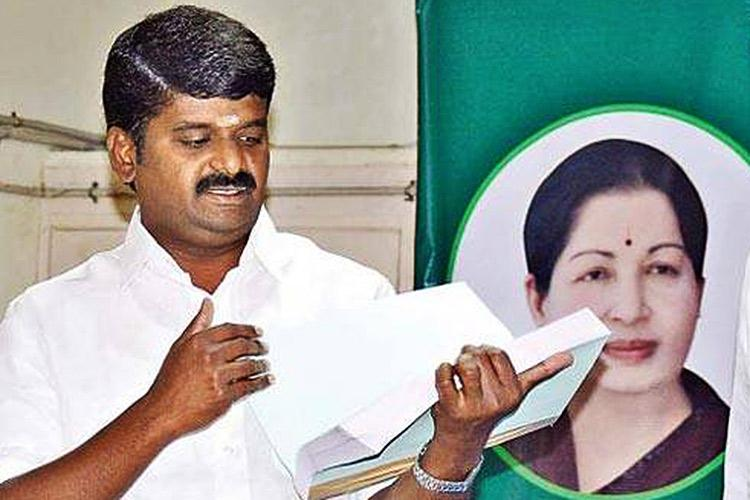 Image result for tn health minister's father confessed of 13 lakhs bribery