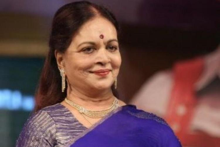 Veteran actor-director Vijaya Nirmala passes away at 73