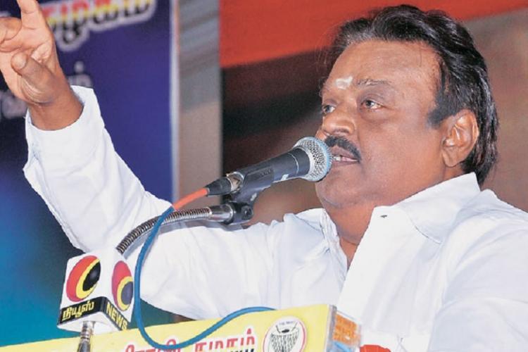 Vijayakanth loyalists heap abuses and insults at DMDK rebels who questioned PWA alliance