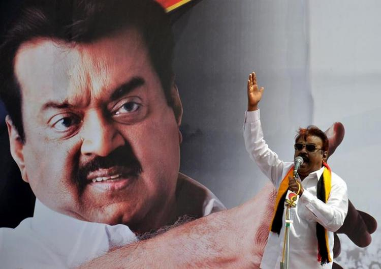 Captain is back Vijayakanth to act as the lead in a movie after 5 years