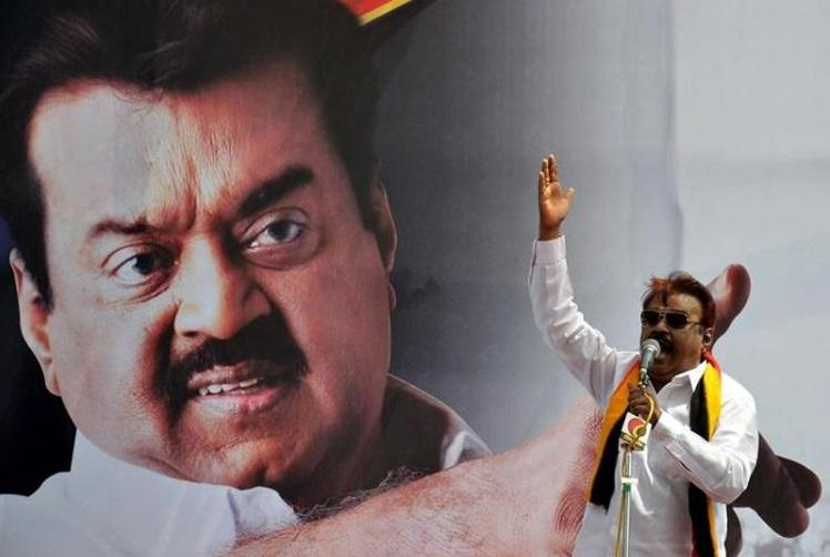 Mere posturing DMDK calls for LS poll applications as DMK AIADMK woo Vijayakant
