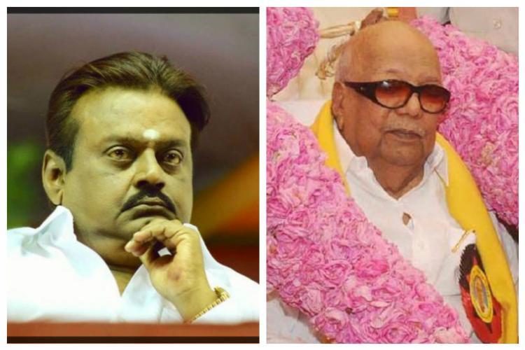 Karunanidhi Stalin and Vijayakanth didnt raise any query in TN assembly Sarath most active