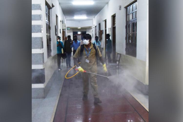 Woman staffer at Karnatakas Vikasa Soudha tests positive for coronavirus