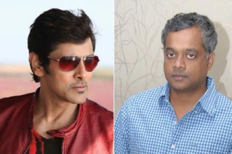 Gautham Menon ropes in Vikram for spy thriller Dhruva Natchathiram