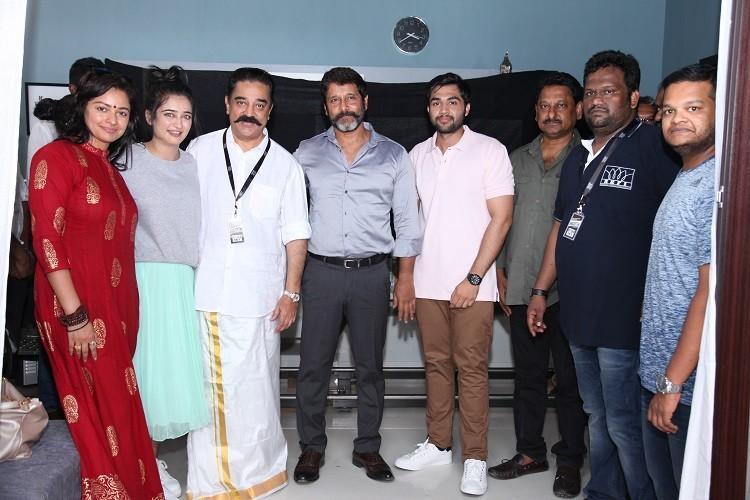 Shooting begins for Vikram-Akshara Haasan starrer produced by Kamal Haasan