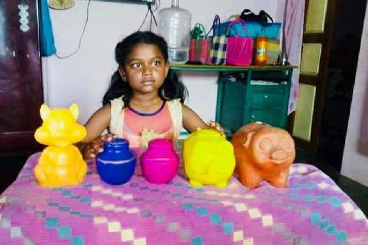 TN 8-yr-old donates piggy bank to Kerala cycle company makes her dream come true