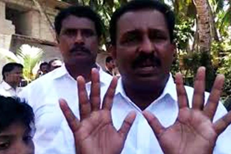 Arrested for rape Kerala Congress MLA Vincent says he is being framed by CPI M