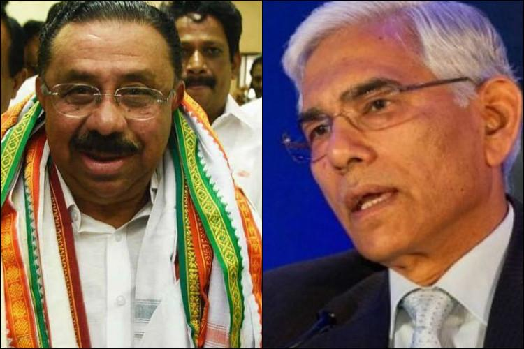 2G scam Congress in Kerala wants Vinod Rai to apologise calls him a BJP agent