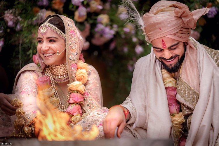 In Images Virat Kohli and Anushka Sharma are finally married