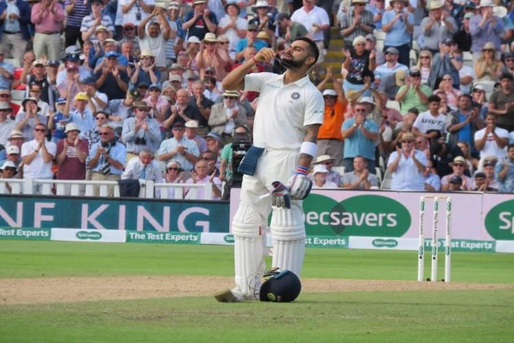 It was difficult test of physical and mental strength Kohli on Edgbaston ton