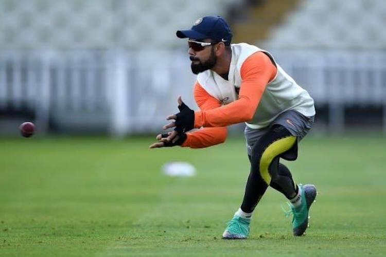 Not like were getting rolled over Kohli optimistic of Indias chances at Lords