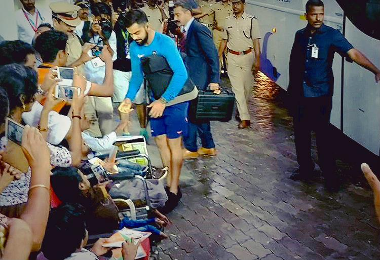 When Virat Kohli won the hearts of these differently-abled children in Kerala