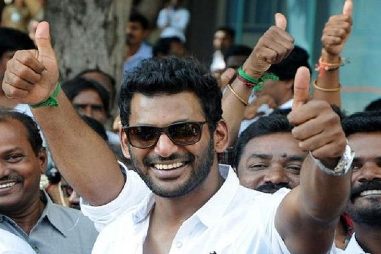 Major victory for Vishal in TN film producers council elections