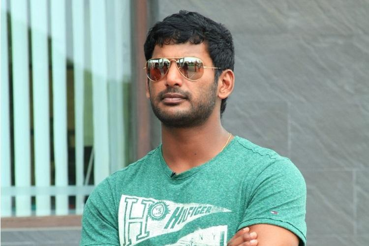 I cant sit and watch its time Actor Vishal to contest in RK Nagar bye-polls