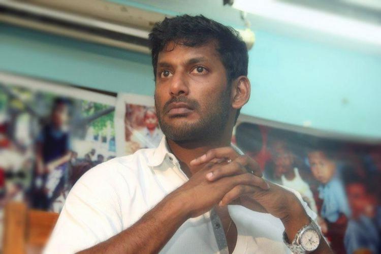 Vishal in white shirt