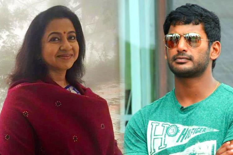 A true chameleon Film industry rivals celebrate Vishals RK Nagar nonstarter