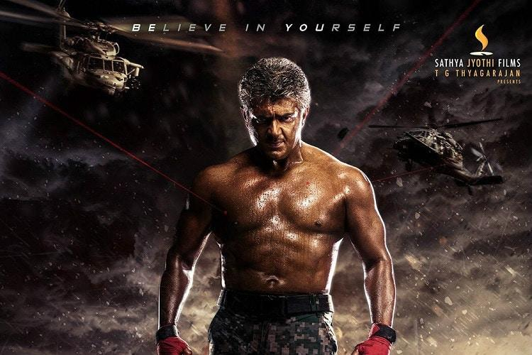 Ajiths transformation for Vivegam stuns Kollywood