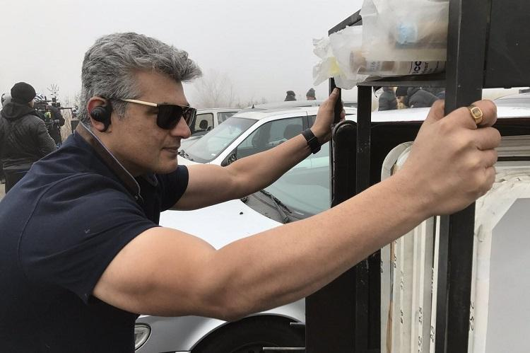 Ajith performed stunts in Vivegam sans body double says director Siva