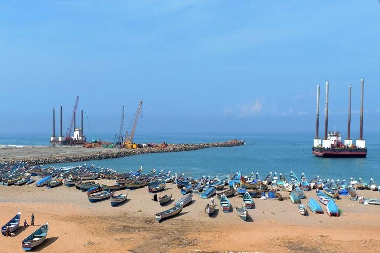 Breakwater construction on Vizhinjam port has caused high tides Kerala Fisheries Min
