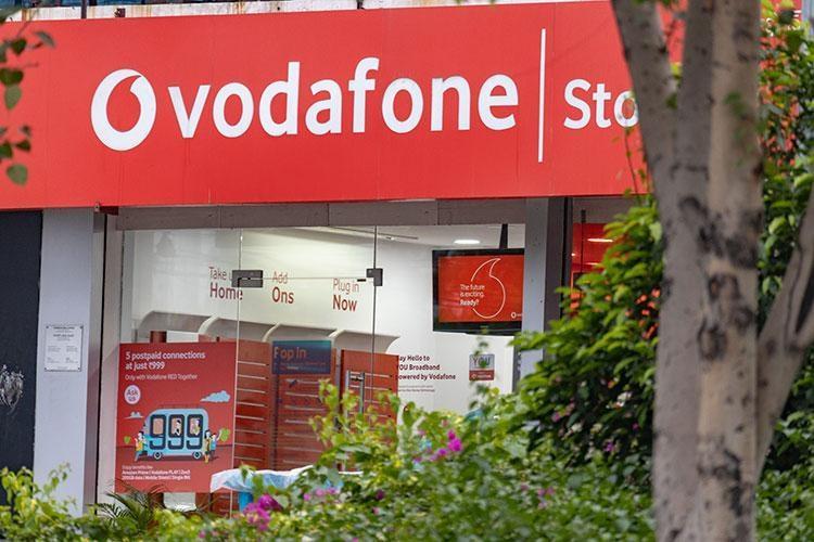 Vodafone store