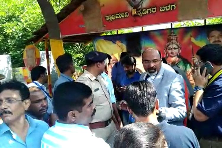 Long-time Bengaluru voters names deleted People protest EC denies responsibility
