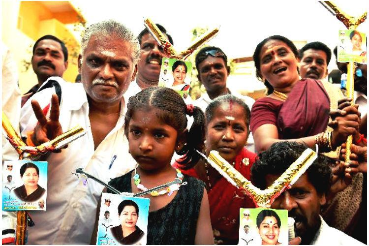 Jayalalithaa video is a move to get more votes say people of RK Nagar