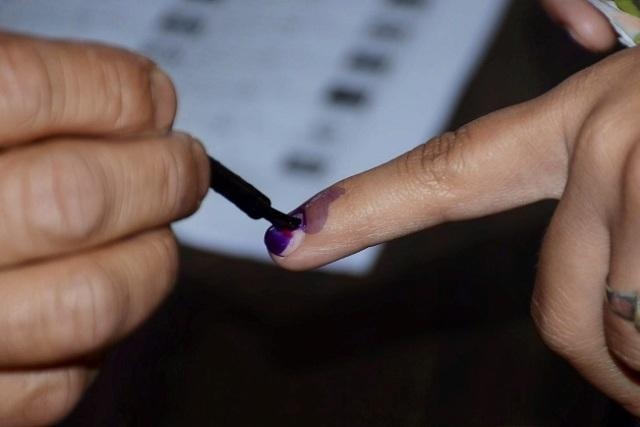 Ktaka polls EC sets up Model Polling Booths facilities for disabled persons