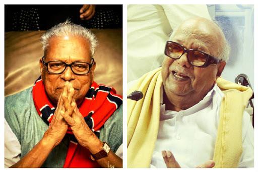 VS and Karunanidhi 2 nonagenarians hoping to strike gold at the hustings