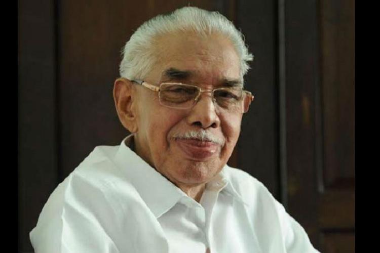 Kerala CPI M leader Dakshinamoorthy passes away