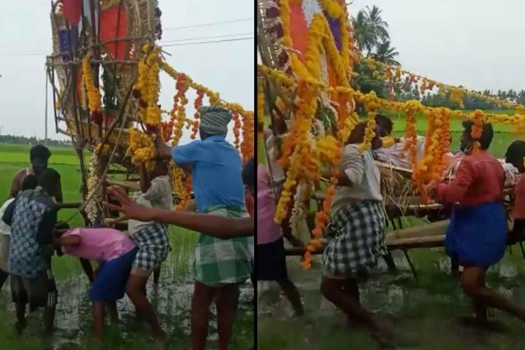 In this TN village Dalits forced to take their dead through slushy fields to avoid conflict