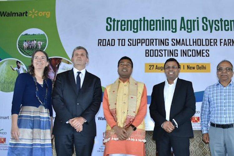 Walmart Foundation announces two new grants of 48 mn for smallholder farmers in India