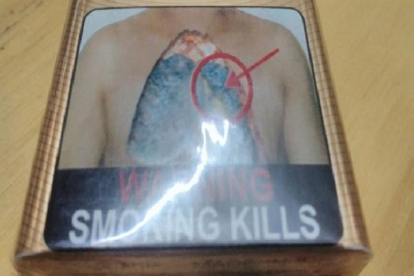 85 pictorial warning Cigarette manufacturers shut down production over ambiguity of policy