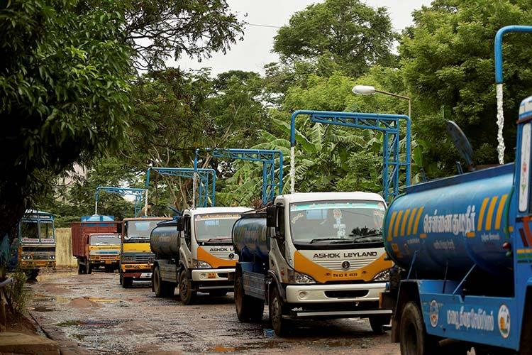 Indefinite strike from August 21 by TN Private Water Tankers Association