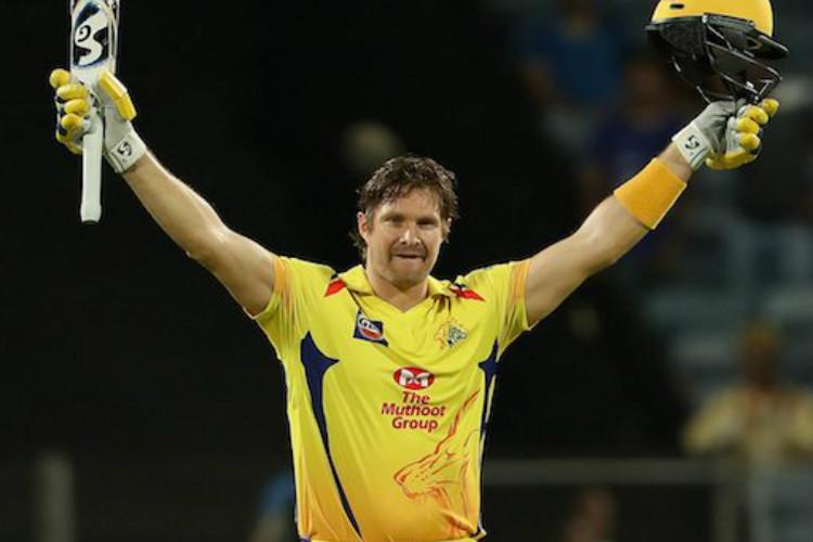 Shane Watson's superlative ton puts CSK on top of the table | The News  Minute