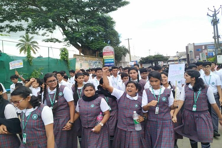 Students in Wayanad join protests against night traffic ban in Bandipur forest area