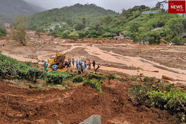 The hill that collapsed Frantic search in Wayanad for the dead among the rubble