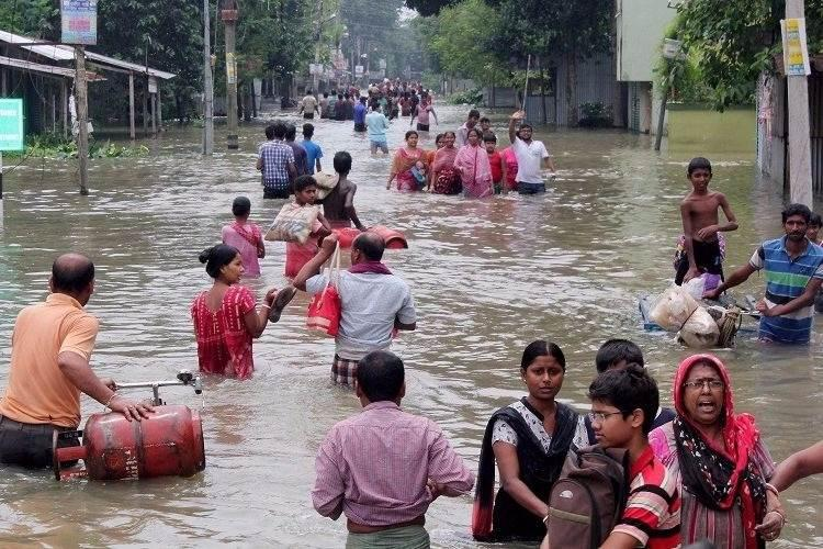 Flood situation deteriorates in Bengals Malda and South Dinajpur