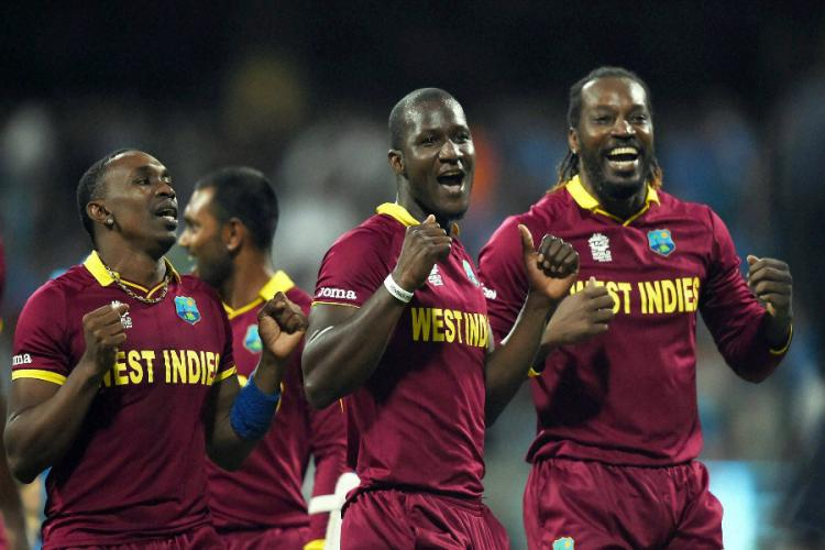 Viral Video WI team celebrate after their win against India WorldT20
