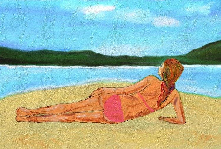 Social media the bikini bridge and the viral contagion of body ideals