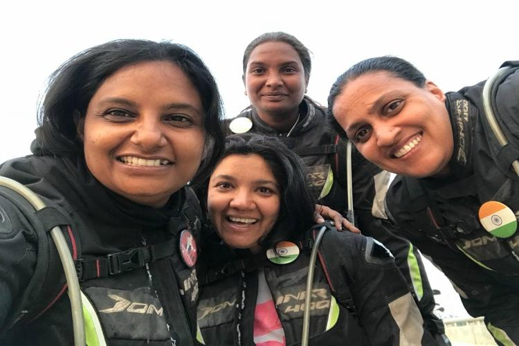 Meet the women bikers from Hyd who rode 17000 km covering 11 states 5 countries