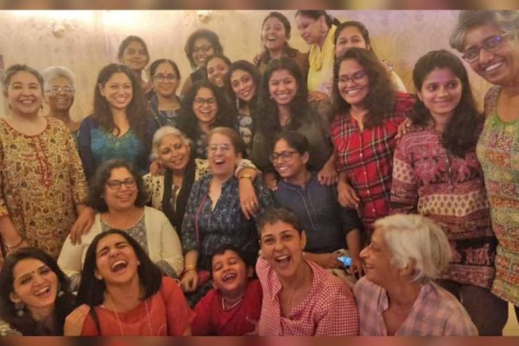 Parvathy Vidhu Vincent Rima Kallingal and other women in cinema collective members from Malayalam film industry