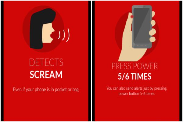 Now a womens safety app activated by a scream