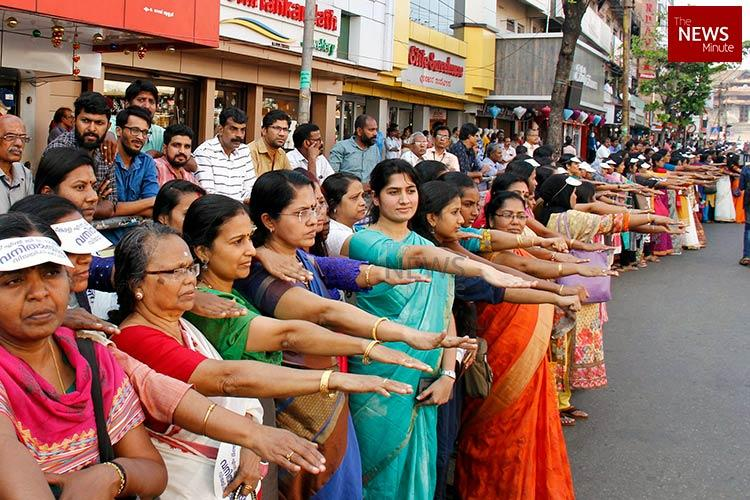 Keralas wall of resistance Lakhs of women stand up against patriarchy