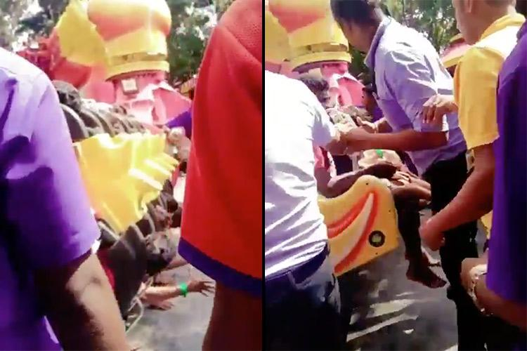 Four injured in accident at Bengalurus WonderLa cops probe after video emerges