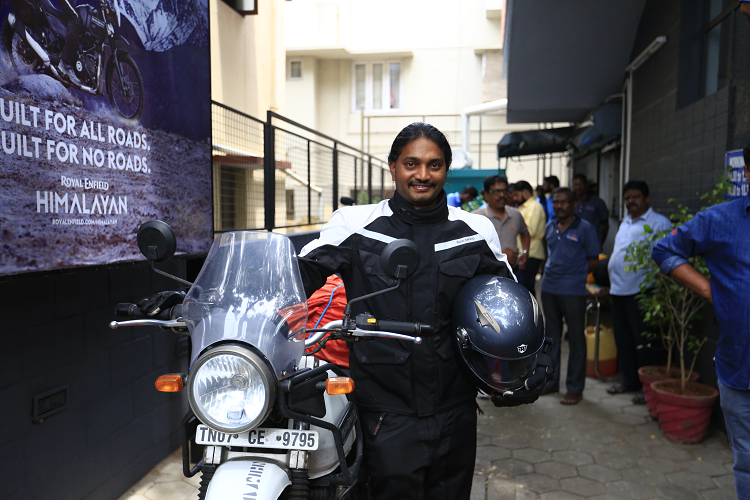 Biking for a borderless world A Chennai engineer is riding to 133 countries on 7 continents