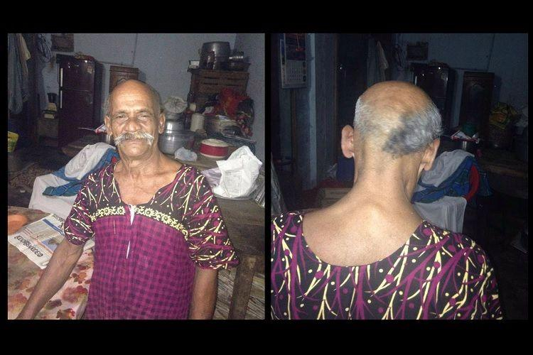Kerala man shaves off half of his hair will grow it back when Modi is voted out of power