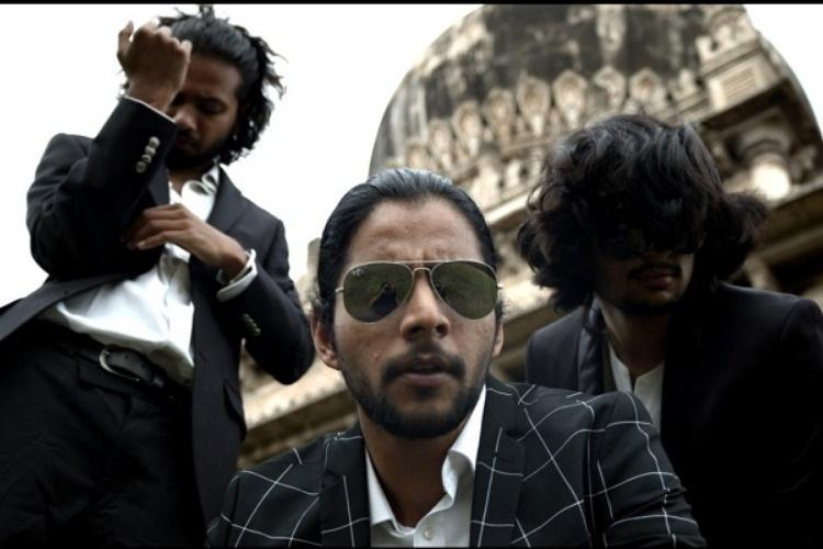 Were not about lyrics set themes This music band is classic Hyderabadi style