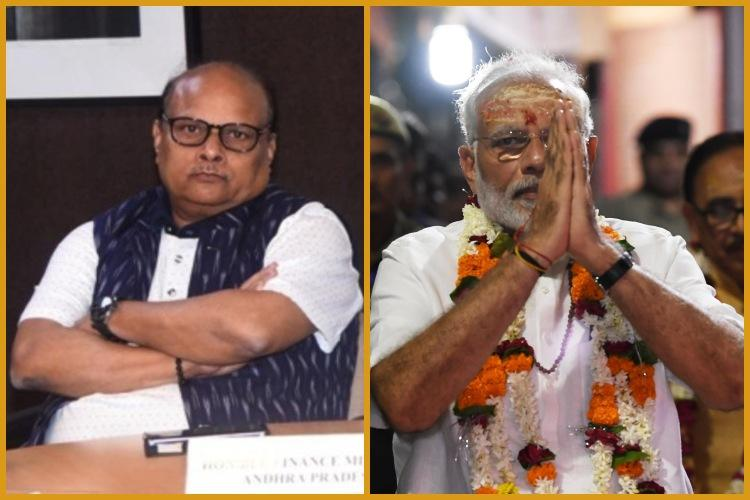 Andhra minister calls PM Modi Anaconda says hes swallowing up institutions