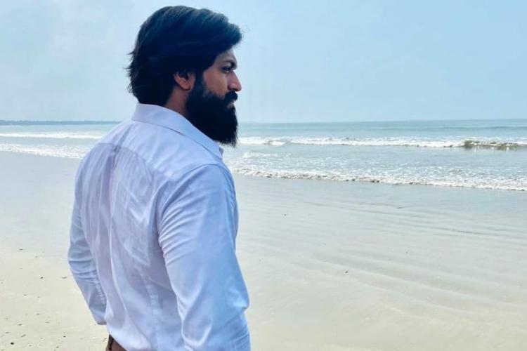 Yash joins back sets of KGF Chapter 2 teases fans with picture