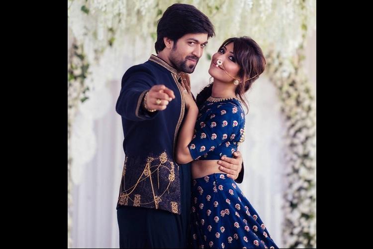 Sandalwood star couple Yash-Radhika tie the knot in Bengaluru